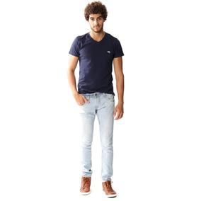 Calça Jeans Masculina Skinny - 253437
