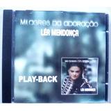 Cd Lea Mendonça - Milagres Dá Adoração - Playback