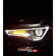 Farol Vland Drl Led Mitsubishi Lancer, Evolution X, Ralliart