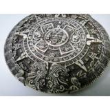 Calendario Maya, Plato Para Colgar Con Soporte Incluido
