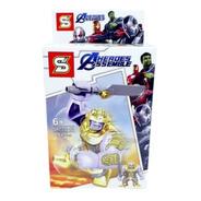 Bloco De Montar Vingadores Heroes Assemble: Thanos