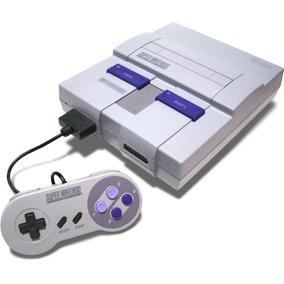 Super Nintendo Snes Completo Usado Com Defeito