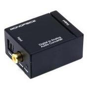 Adaptador Conversor De Audio Óptico Digital A Análogo Rca