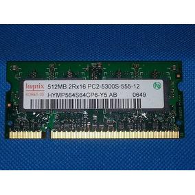 Memoria Ram 512 Hynix Ddr2 Pc2-5300s-555-12