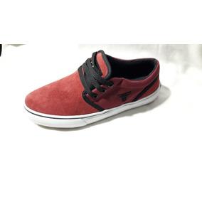 Zapatillas Fallen Easy Rojo Oferta - Zero Absoluto
