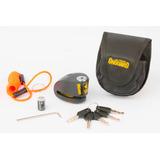 Traba Disco Con Alarma Onguard - 10mm Y 6mm - Excelente!
