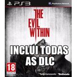 The Evil Within + Todas As Dlc Ps3 Código Psn Original