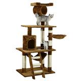 Juguete Para Mascotas Gato Casa Cama Rascador 157 Cm