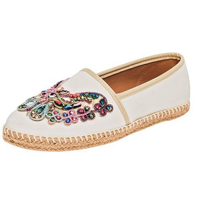 Zapato Nautico, Dama, Flats, Sc B9400, Bordados