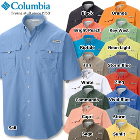 Camisas Columbia Caballero Oferta