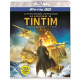 As Aventuras De Tintim - Blu-ray 3d