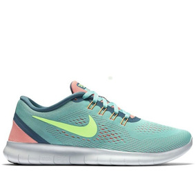 Tenis Nike Free Verde Mujer Original