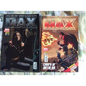 Hq Marvel Max Panini Edição 47,50 As Duas Edições Por R$5