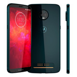 Smartphone Motorola Moto Z3 Play 64gb Indigo Lacrado
