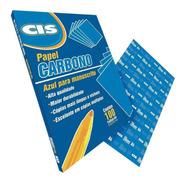 Papel Carbono Manuscrito Azul Cis 100 Folhas