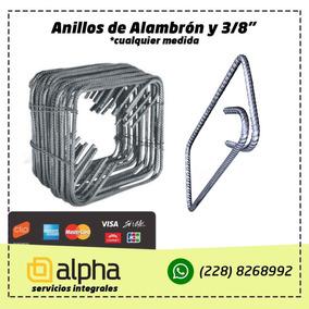 Estribos De Alambrón Y Varilla De 3/8