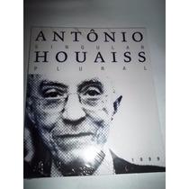Livro Catalogo Exposição Antonio Houais Singular Plural