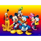 Painel Decorativo Festa Turma Do Mickey [3x1,7m] (mod4)