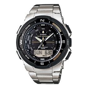 Relógio Casio Outgear Sgw-500hd Altimetro Barometro Aço Prom
