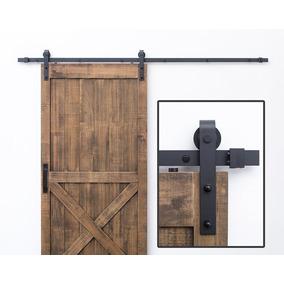 Rieles para puertas correderas tipo granero en mercado - Rieles puerta corredera ...