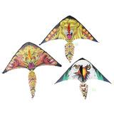 6 Papalotes De Aguila O Tigre 105x95cm, Envío Gratis