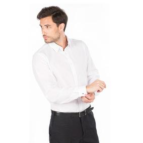 Camisa De Vestir Lisa Gemelos Entallada Hombre Macowens