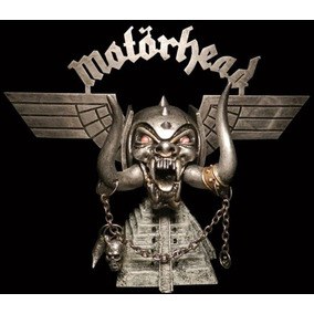 Motörhead Lemmy Kilmister Warpig Logo Tusk Skull Pyramid