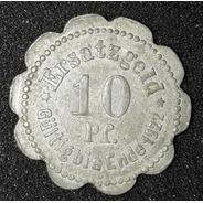 Moeda 10 Pfennig Stadt Stettin Ano 1920 Alemanha