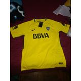 Camiseta De Boca Alternativa Amarilla 17/18- Tucumán