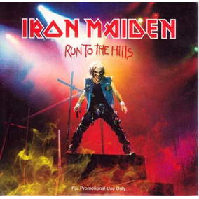Iron Maiden - Run To The Hills - Promo Cd - Importado!