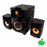 Parlantes Home Teather 2.1 Xion Bluetooth Radio Usb Xi-ht226