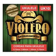 Encordoamento Ukulele Violeiro Uk10 Nylon Cristal Max Music