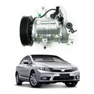 Compressor Ar Condicionado Honda Civic 2012 A 2016 Original