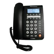 Teléfono Fijo Tc-8300w Modernphone Altavoz Identif. Llamadas