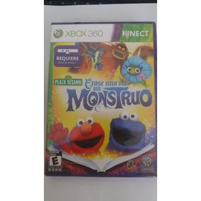 Jogo Xbox 360 Kinect Plaza Sésamo Era Uma Vez Um Monstro