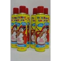 Kit C/ 10 Spray Neve Mágica De Carnaval Espuma Spray Neve