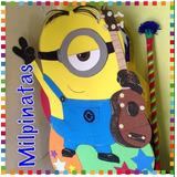 Piñata Entamborada Minions,fiestas Infantiles,peps,,cars