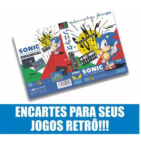 Encartes Para Cartuchos Mega Drive Snes Master Nes