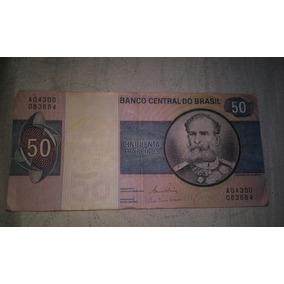 Nota Antiga De 50 Cruzeiros
