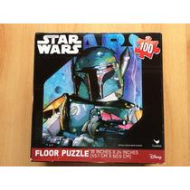 Rompecabezas Star Wars Boba Fett 100 Piezas Gigantes.