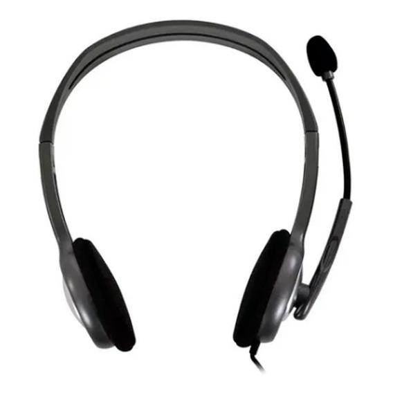 Auricular Vincha Headset Logitech H111 Micrófono Jack 3.5mm