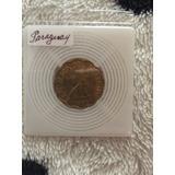 Moneda Antigua De 25 Céntimos De Paraguay 1953