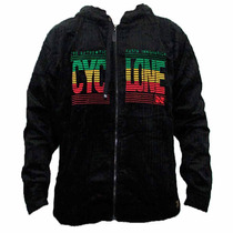 Jaqueta Veludo Cyclone Innovation Rasta