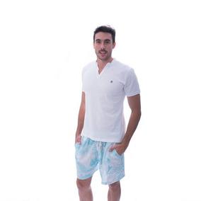 Bermuda Y Camiseta Pijama Hombre Mercedes Bendita