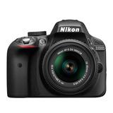 Camara Nikon D3300 Tipo Reflex 24.2mp Lente 18-55mm