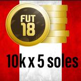 Monedas Fifa 18 Ultimate Team 10k A 4 Soles Solo Ps4