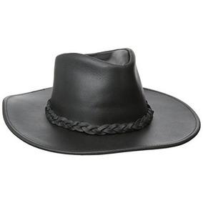 Gorra Henschel Clásico Australiano Hat Negro, Pequeño