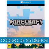 Minecraft - Windows 10 Edition - Pc Código Original - Cd Key