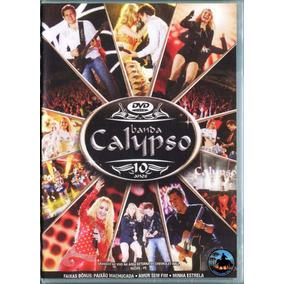 Dvd Banda Calypso 10 Anos - Gravado Em Recife ( Lacrado )
