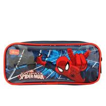 Estojo Spider-man 2017, Azul - 148768 - Tilibra